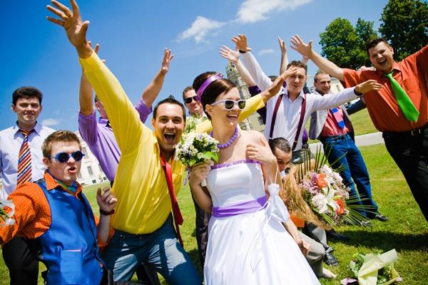 """Свадьба в стиле """"Стиляги"""" - ярко и весело"""