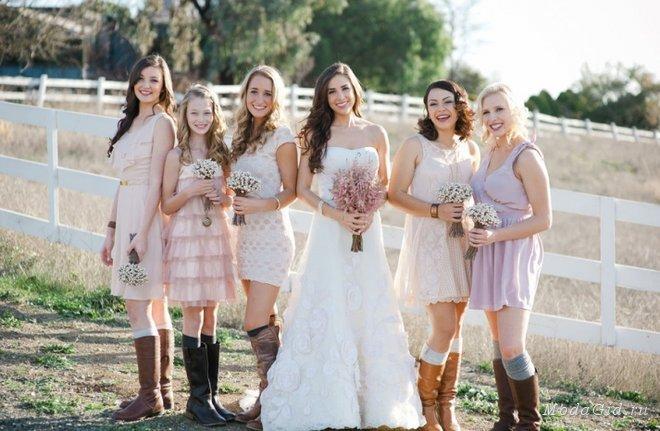 Свадьба в стиле вестерн