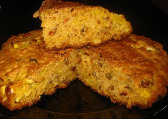 Как приготовить тыквенный пирог с овсянкой под кремом