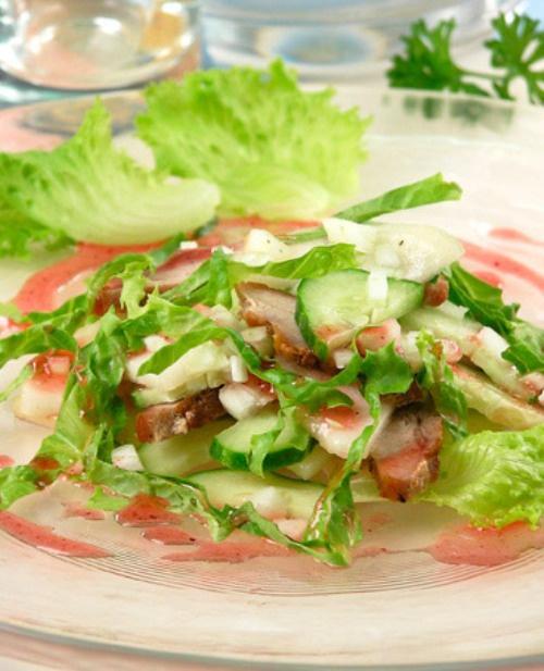 """Как приготовить салат  """"Оригинальный"""""""