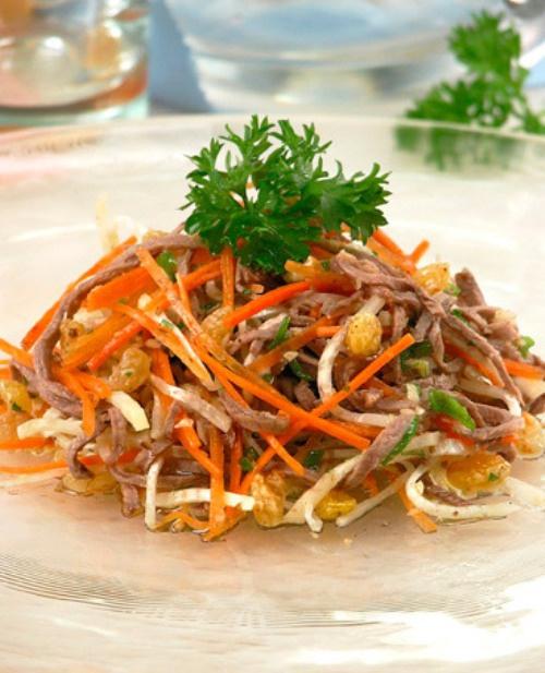 Как приготовить салат по-карфагенски