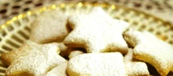 Ароматное печенье с папайей