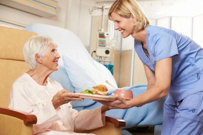 питание пациента в больнице