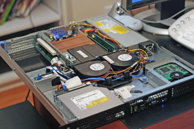 Аппаратное обеспечение сервера