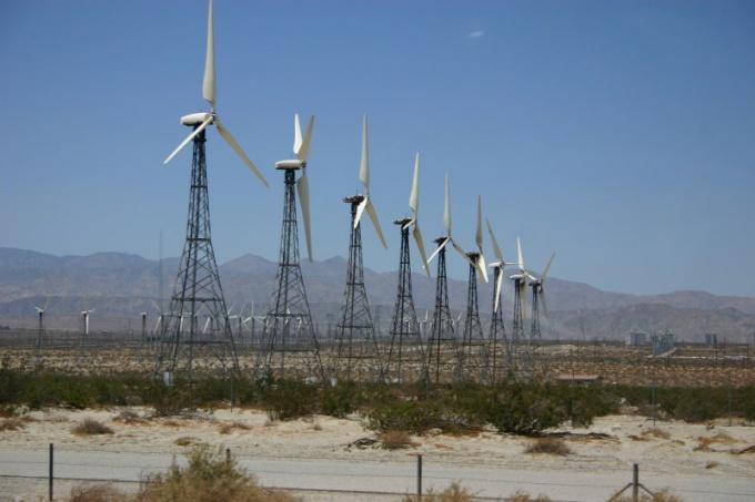 Ветряки электростанции