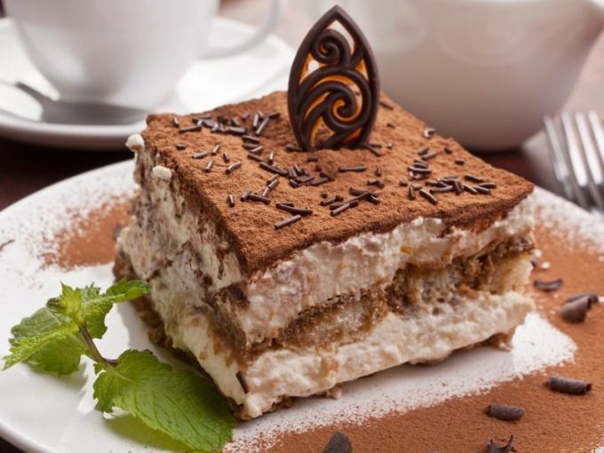 Тирамису - один из популярных десертов в мире