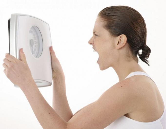 Проблемы с весом вызывают плоххое настроение истресс
