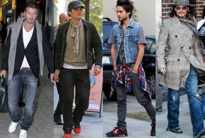 Как одевается современный мужчина