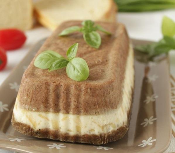 Печеночный кекс с сыром