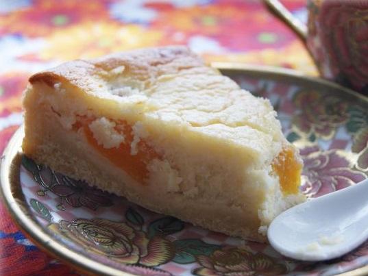 Персиковый тарт с нежным кремом