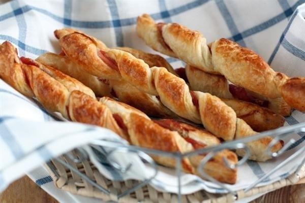 Как приготовить печенье «Слоеные палочки с корицей»