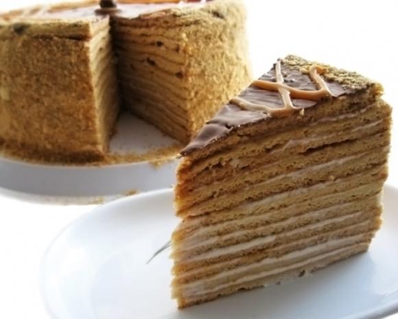 """Как приготовить торт """"Кофейно-медовый"""""""