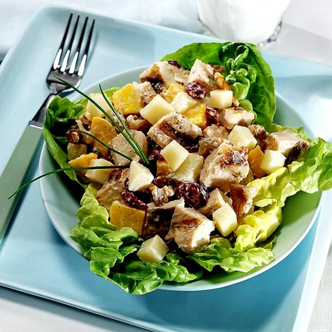 Как приготовить салат из мяса с овощами