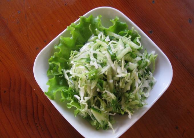 фото рецепт салатной капусты