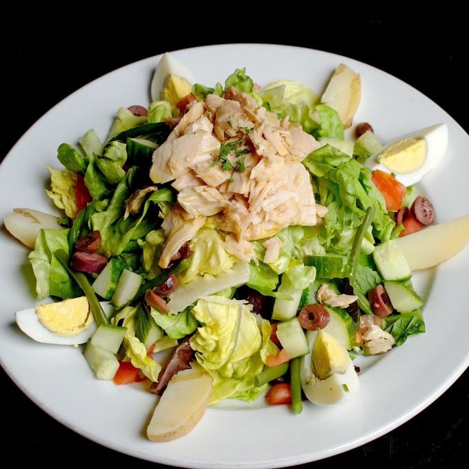 Салат с мясом «Удовольствие»