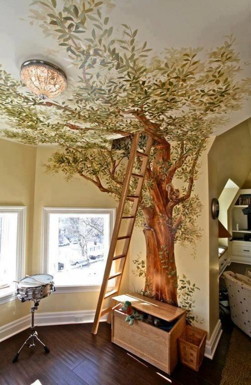Декор стен деревом Декорирование своими руками