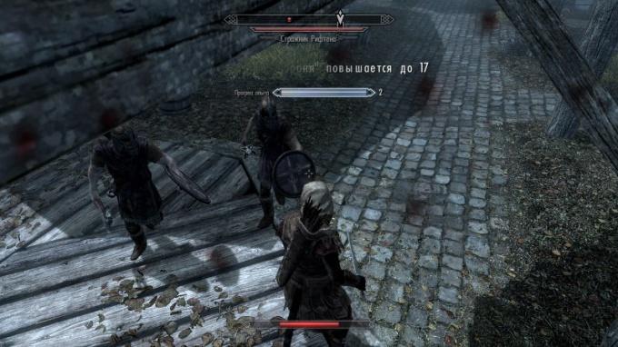 Схватка со стражниками