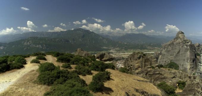 Олимп – место обитания древнегреческих богов, действительно существующее место