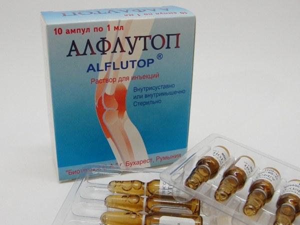 Как колоть алфлутоп
