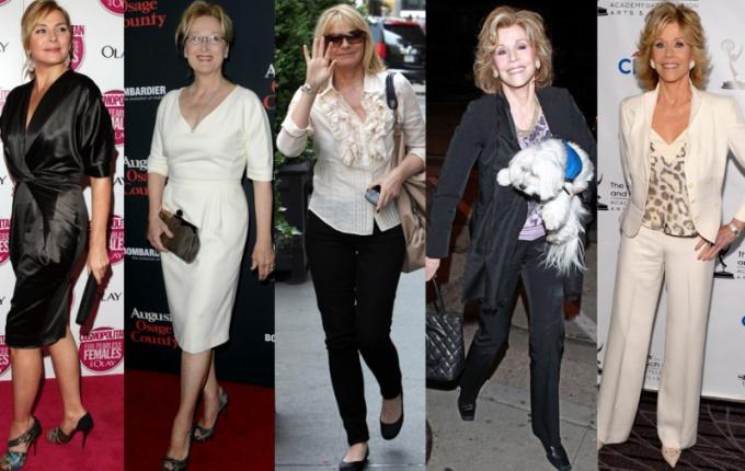 Как стильно выглядеть в 50 лет