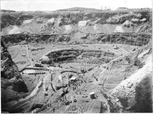 Прииск Premier Mine в 1903 году