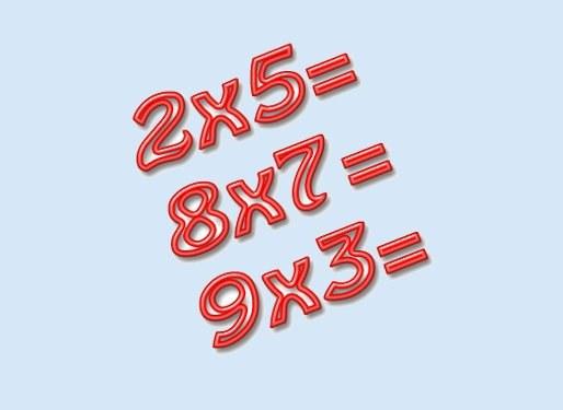 Как решать примеры на умножение