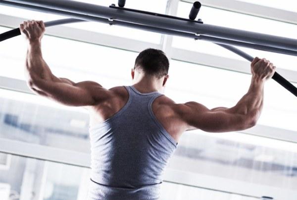 Какие мышцы работают при подтягивании за голову