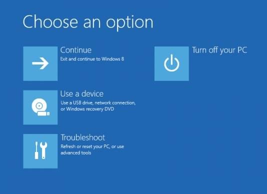 Как включить безопасный режим Windows 8