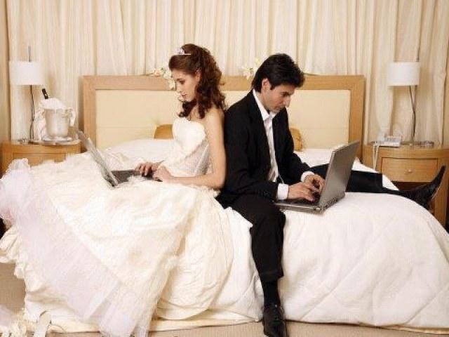 Как происходит виртуальная свадьба