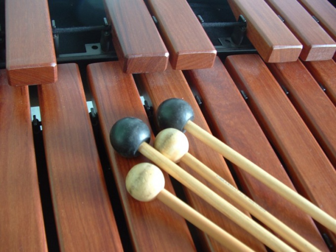 The xylophone can be played