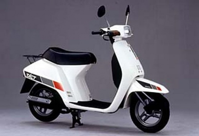 Reliable moped, Honda Tact AF09