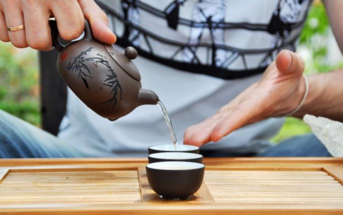 Церемония заваривания чая по-китайски
