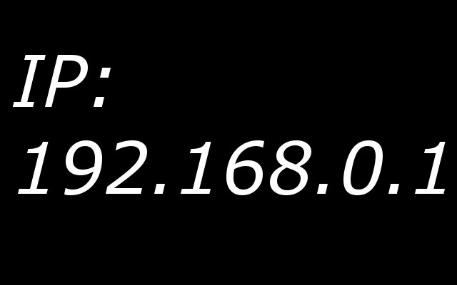 The IP address of the computer