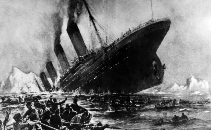 Как затонул «Титаник»?