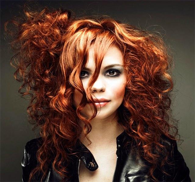 Как выглядит химия на волосах