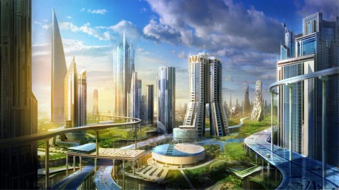 Как выглядит город будущего