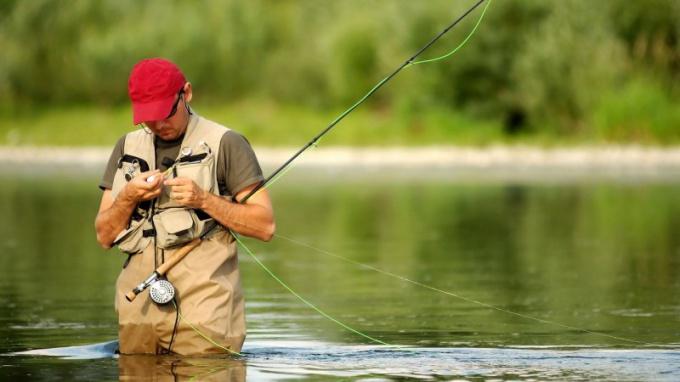 Как верно ловить рыбу