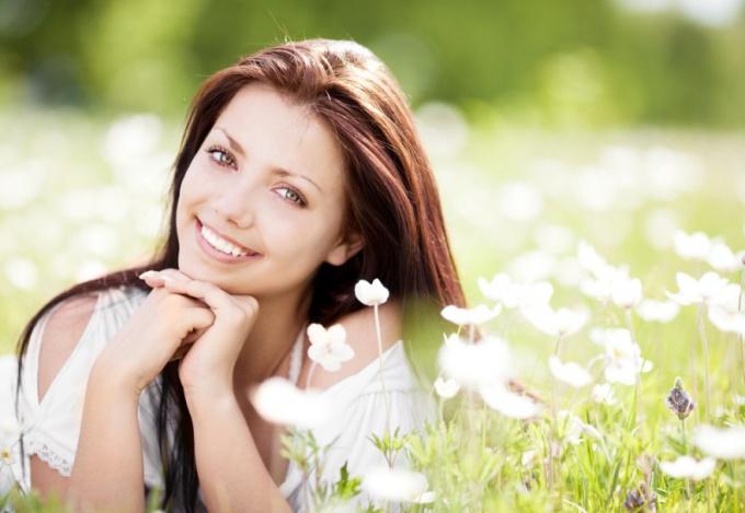 Счастливая женщина всегда будет привлекательной