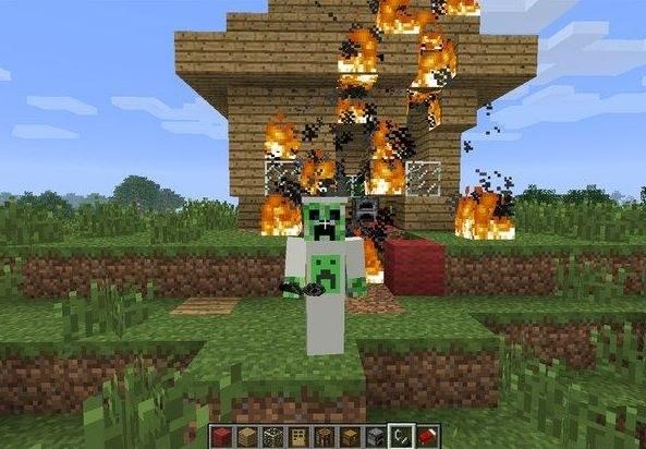 Деятельность грифера - настоящее бедствие для игрока в Minecraft