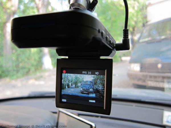 Viewing files from the car DVR