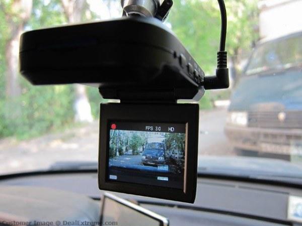 Просмотр файлов с автомобильного видеорегистратора