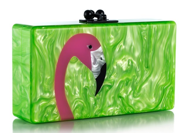 Plastic jewelry box from Edie Parker