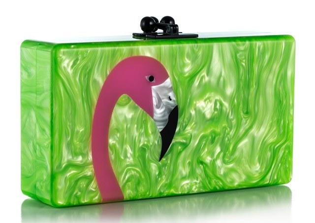Пластиковый клатч-коробочка от Edie Parker
