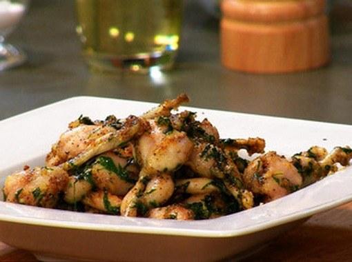 Французское блюдо из лягушачьих лап