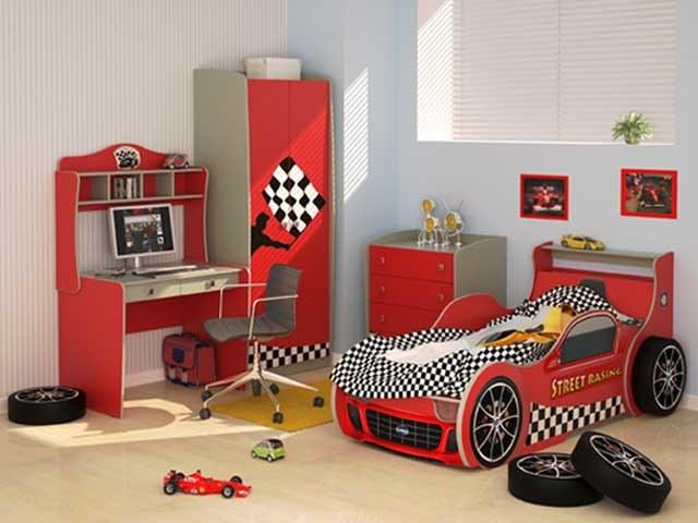 Bright furniture for children