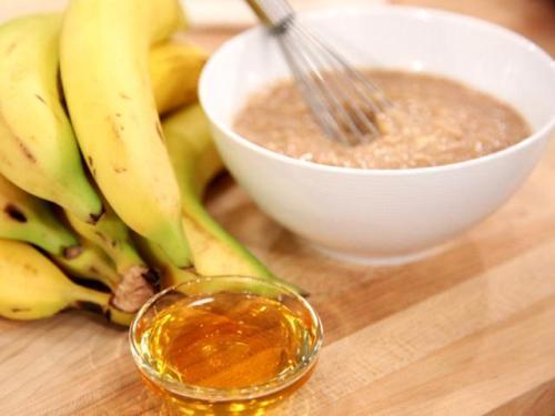 Банановые питательные маски