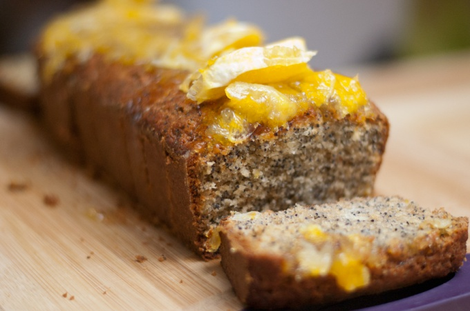 Как приготовить кекс с апельсиновой глазурью