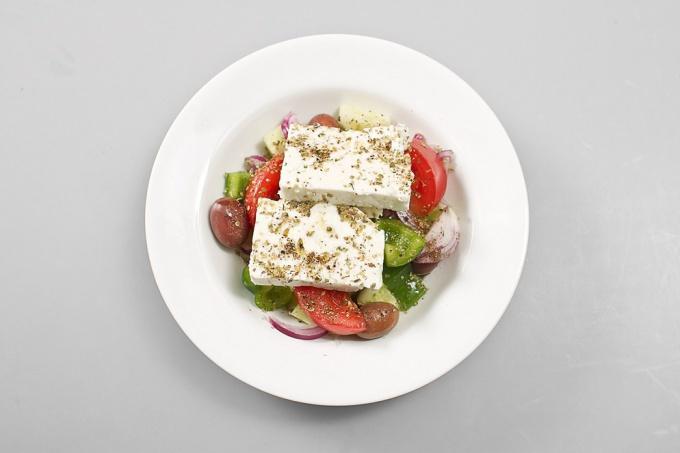 греческий салат рецепт настоящий рецепт