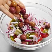 Настоящий греческий салат