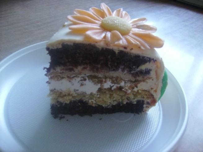 Как приготовить торт «Мраморный»